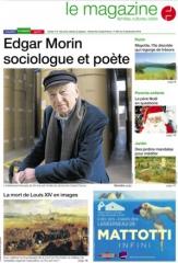 edgar morin, philosophe, philosophie, ouest france