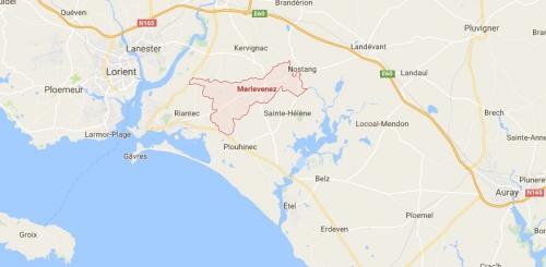recensement des cabines, cabine téléphonique, merlevenez, Morbihan, bretagne