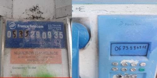 cabine téléphonique, Auray